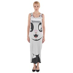 Meow Fitted Maxi Dress