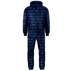 BRK1 BK-MRBL BL-STONE (R) Hooded Jumpsuit (Men)