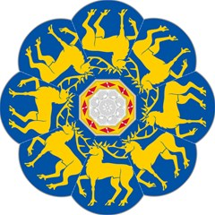 Coat of Arms of Aland Folding Umbrellas