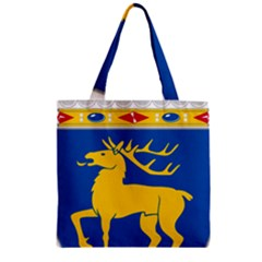 Coat of Arms of Aland Zipper Grocery Tote Bag