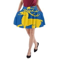 Coat of Arms of Aland A-Line Pocket Skirt