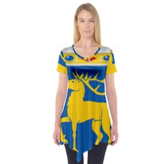 Coat of Arms of Aland Short Sleeve Tunic