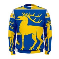 Coat of Arms of Aland Men s Sweatshirt