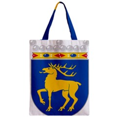 Coat of Arms of Aland Zipper Classic Tote Bag