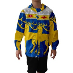 Coat of Arms of Aland Hooded Wind Breaker (Kids)
