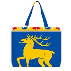 Coat of Arms of Aland Large Tote Bag