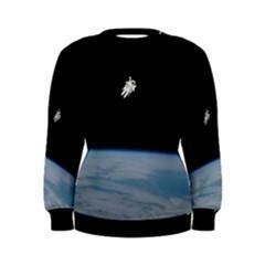 Amazing Stunning Astronaut Amazed Women s Sweatshirt