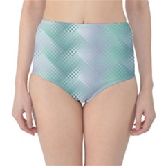 Jellyfish Ballet Wind High-Waist Bikini Bottoms