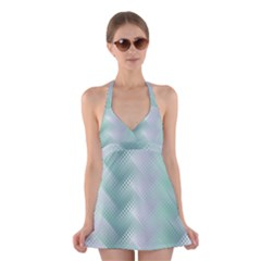 Jellyfish Ballet Wind Halter Swimsuit Dress