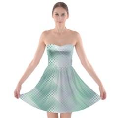 Jellyfish Ballet Wind Strapless Bra Top Dress