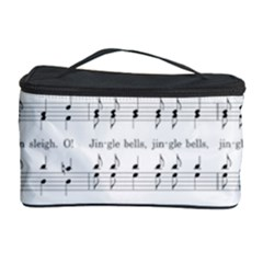 Jingle Bells Song Christmas Carol Cosmetic Storage Case