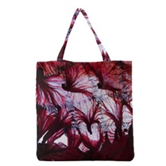 Jellyfish Ballet Wind Grocery Tote Bag