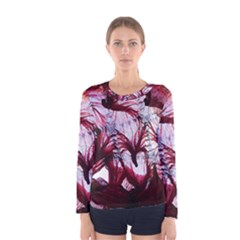 Jellyfish Ballet Wind Women s Long Sleeve Tee
