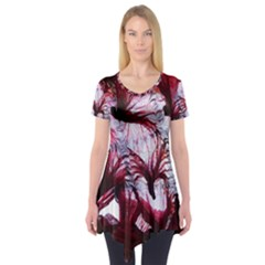 Jellyfish Ballet Wind Short Sleeve Tunic