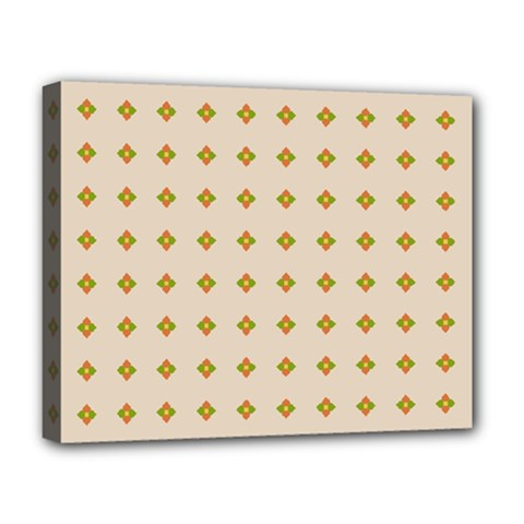 Pattern Background Retro Deluxe Canvas 20  x 16