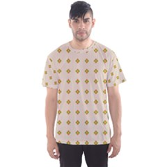 Pattern Background Retro Men s Sport Mesh Tee