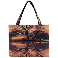 Aurora Sunset Sun Landscape Mini Tote Bag