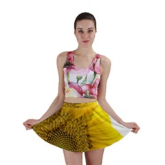 Plant Nature Leaf Flower Season Mini Skirt