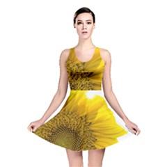 Plant Nature Leaf Flower Season Reversible Skater Dress