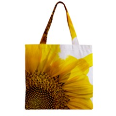 Plant Nature Leaf Flower Season Zipper Grocery Tote Bag