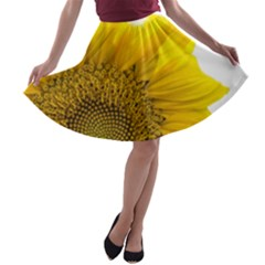 Plant Nature Leaf Flower Season A-line Skater Skirt