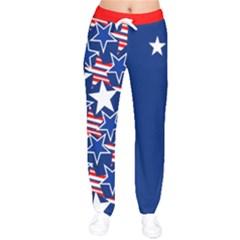 Usa2 Velvet Drawstring Pants