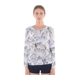 Pattern Motif Decor Women s Long Sleeve Tee