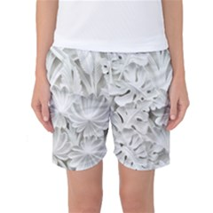Pattern Motif Decor Women s Basketball Shorts