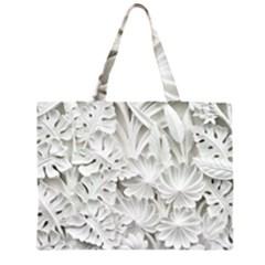 Pattern Motif Decor Large Tote Bag