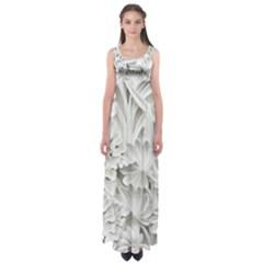 Pattern Motif Decor Empire Waist Maxi Dress