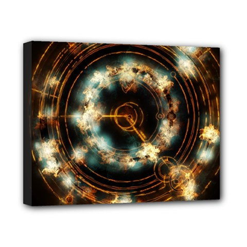 Science Fiction Energy Background Canvas 10  x 8