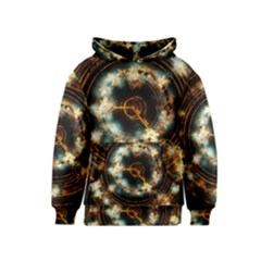 Science Fiction Energy Background Kids  Pullover Hoodie