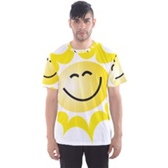 The Sun A Smile The Rays Yellow Men s Sport Mesh Tee