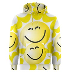 The Sun A Smile The Rays Yellow Men s Pullover Hoodie