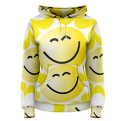 The Sun A Smile The Rays Yellow Women s Pullover Hoodie