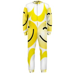 The Sun A Smile The Rays Yellow OnePiece Jumpsuit (Men)