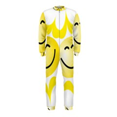 The Sun A Smile The Rays Yellow OnePiece Jumpsuit (Kids)