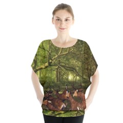 Red Deer Deer Roe Deer Antler Blouse