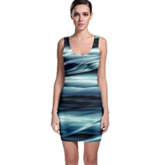 Texture Fractal Frax Hd Mathematics Sleeveless Bodycon Dress