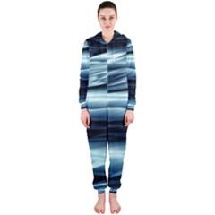 Texture Fractal Frax Hd Mathematics Hooded Jumpsuit (ladies)