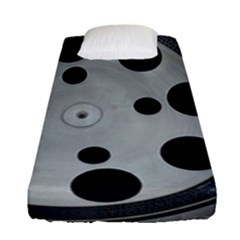 Turntable Record System Tones Fitted Sheet (single Size)