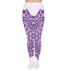 Mandala Purple Mandalas Balance Women s Tights