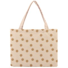 Pattern Gingerbread Star Mini Tote Bag