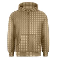 Pattern Background Brown Lines Men s Zipper Hoodie