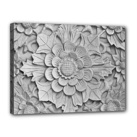 Pattern Motif Decor Canvas 16  x 12