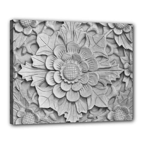 Pattern Motif Decor Canvas 20  X 16