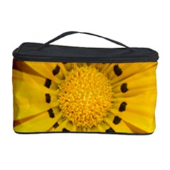 Transparent Flower Summer Yellow Cosmetic Storage Case