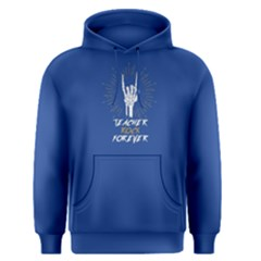Blue teacher rock forever Men s Pullover Hoodie