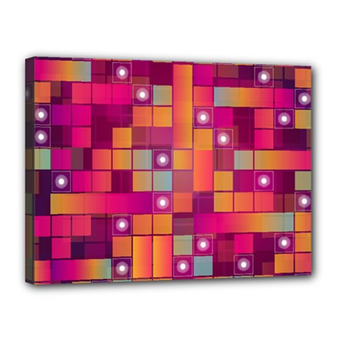 Abstract Background Colorful Canvas 16  x 12