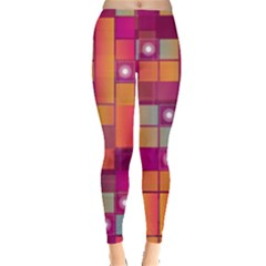 Abstract Background Colorful Leggings
